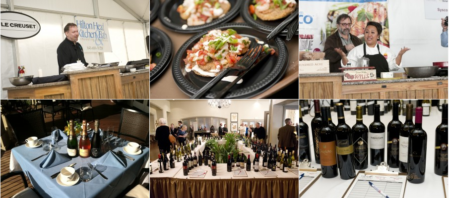 31st Annual Wine & Food Festival @ Sea Pines!