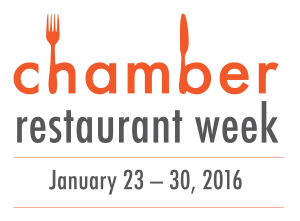 Chamber Restaurant Week in Full Swing
