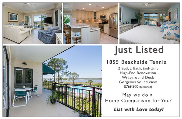 Just Listed ~ 1855 Beachside Tennis