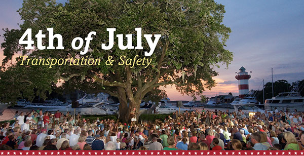 Transportation Info for 4th of July at Harbour Town