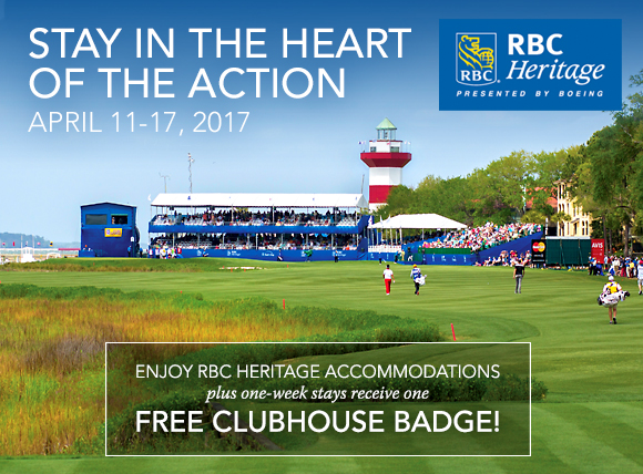 RBC Heritage Accommodation Special