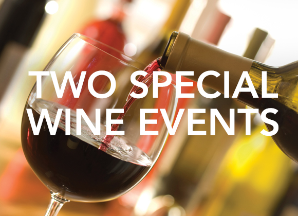 Two Special Wine Events