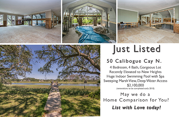 Just Listed ~ 50 N Calibogue Cay