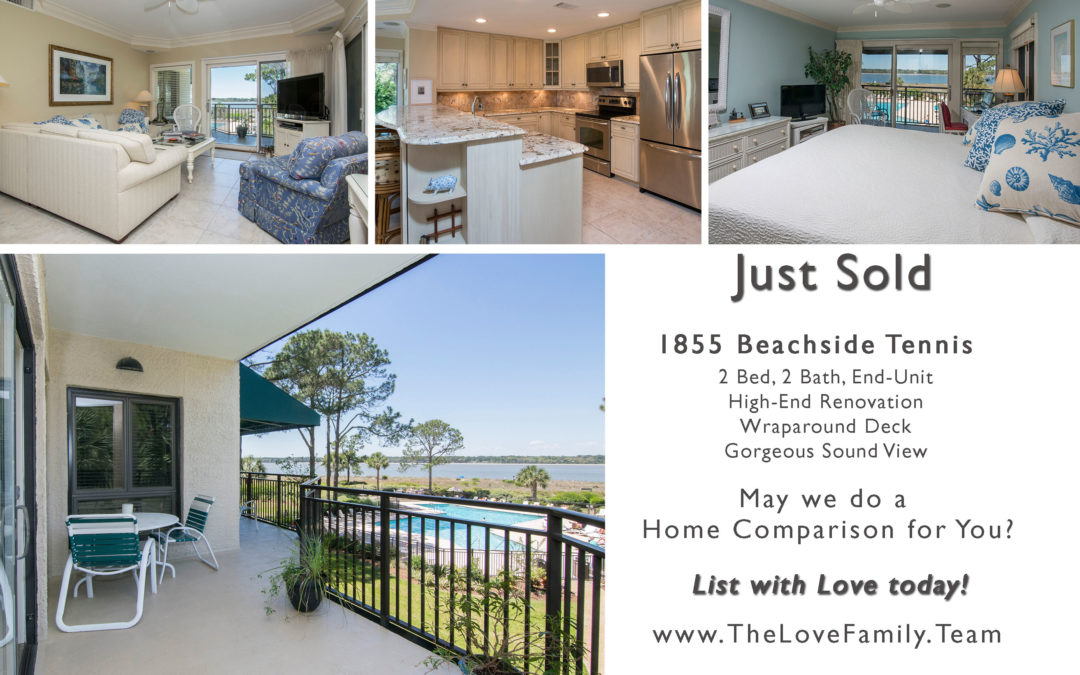 1855 Beachside Tennis – SOLD!